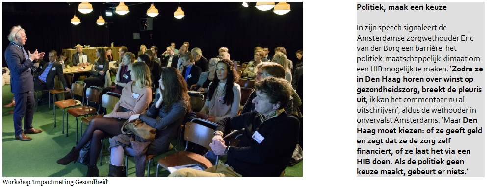 Workshop 'Impactmeting Gezondheid' [EY, Society impact]
